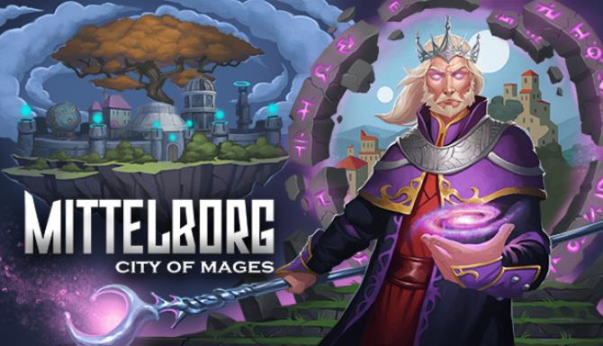 Mittelborg: City of Mages PC Game + Torrent Free Download