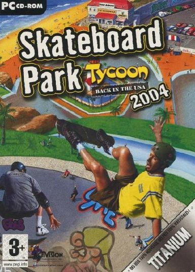Skateboard Park Tycoon World Tour of 2004 PC Game Free Download