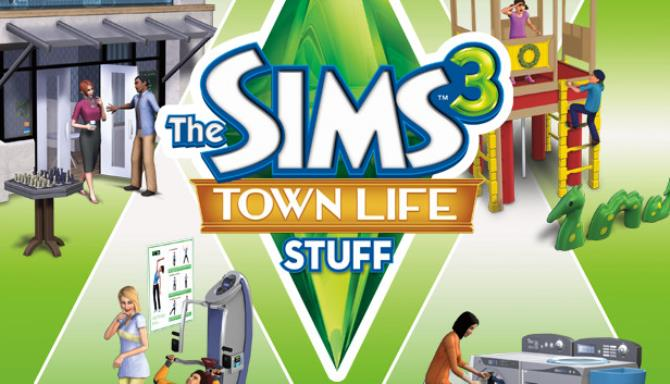 The Sims 3 Town Life Stuff PC Game + Torrent Free Download