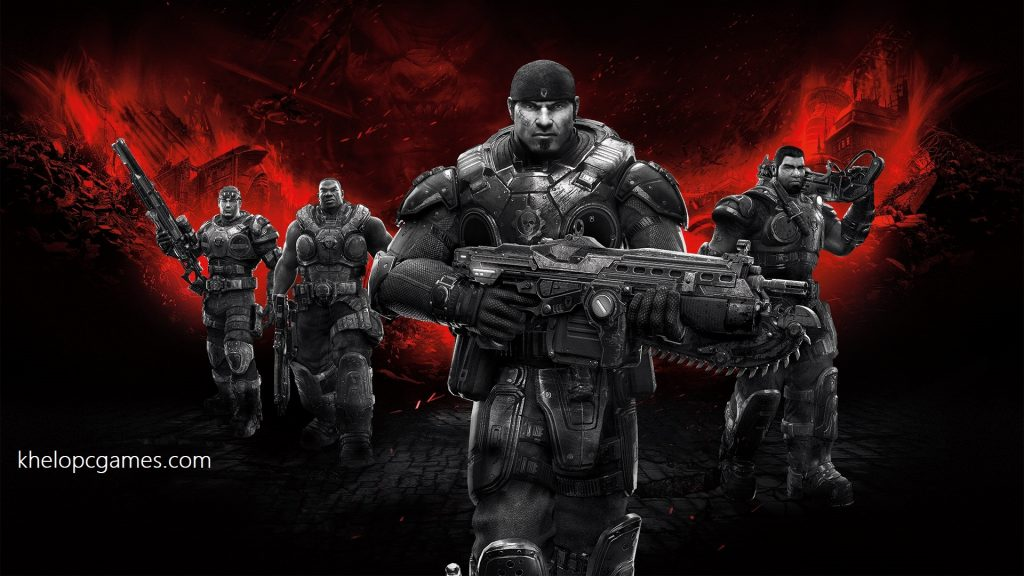 Gears of War Free Download Full Version PC Game Highly Compressed