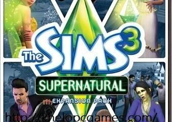 The Sims 3: Supernatural Free Download Full Version PC Game Setup