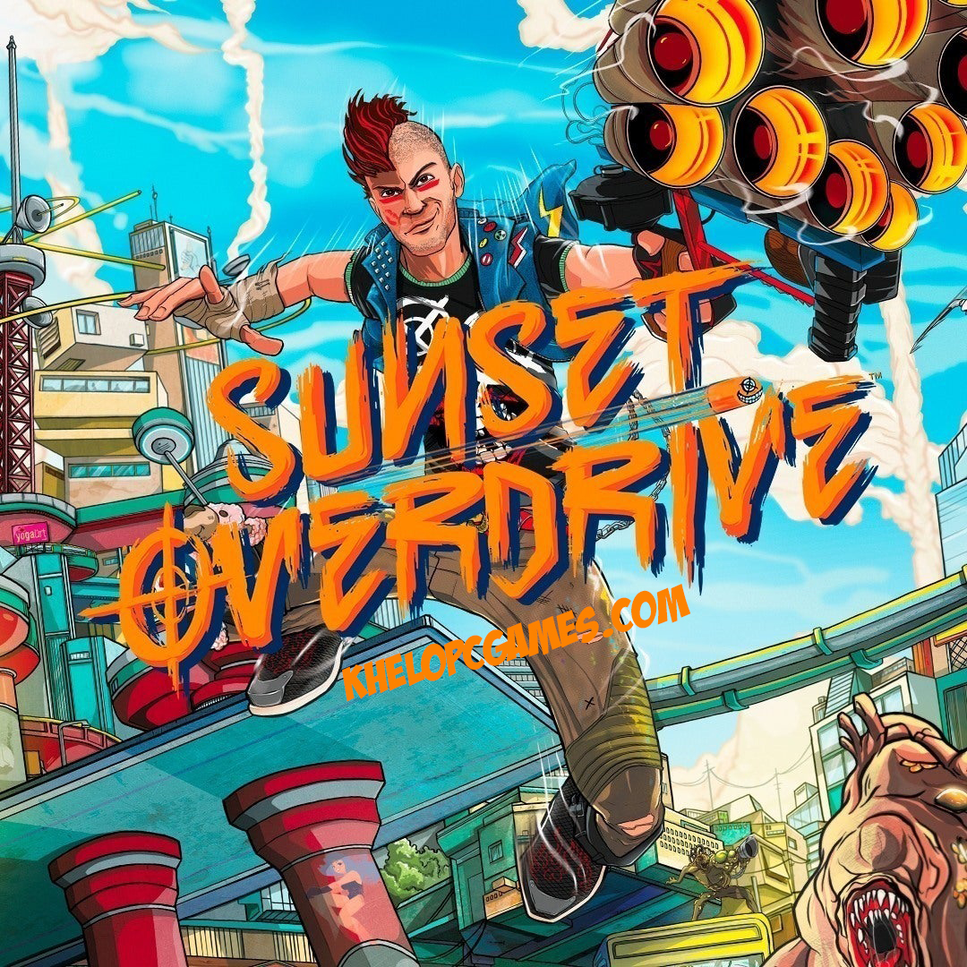Sunset Overdrive PC Game + Torrent Free Download Full Version