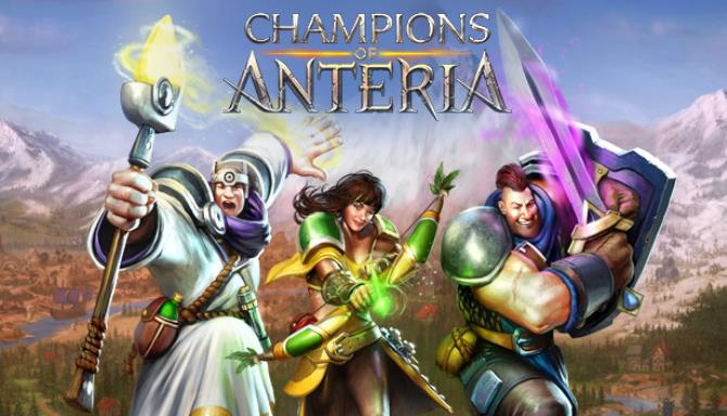 Champions of Anteria PC Game +Torrent Free Download