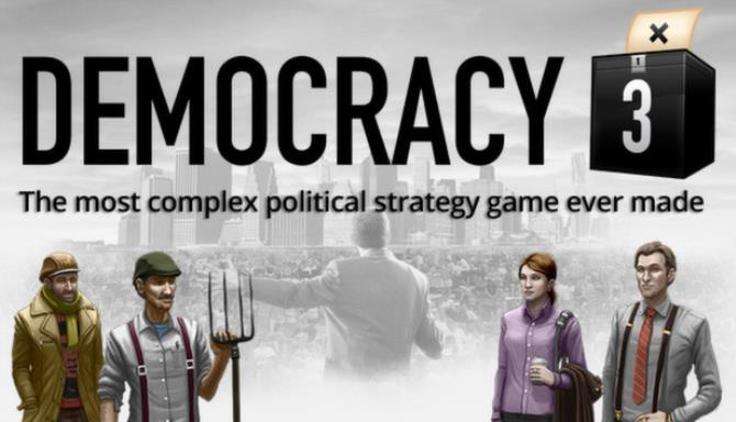 Democracy 3 PC Games + Torrent Free Download (v1.34 & ALL DLC)
