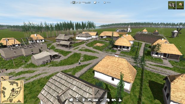 Ostriv – a city building game PC Games + Torrent Free Download (v0.2.3)
