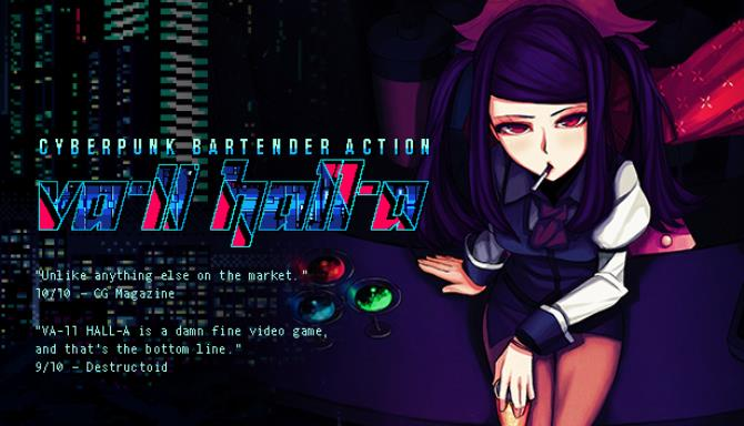 VA-11 Hall-A: Cyberpunk Bartender Action PC Games Free Download (v1.3)
