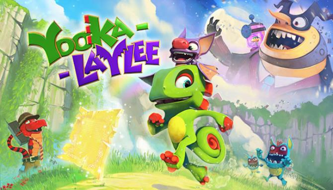 Yooka-Laylee PC Games + Torrent Free Download (v1.0.8)