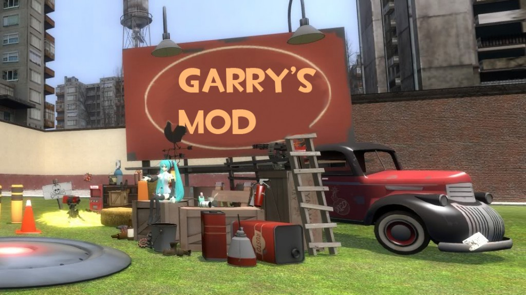 Garrys Mod PC Game Multiplayer Free Download Latest