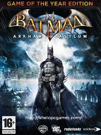 Batman: Arkham Asylum Game of the Year Edition Free Download Full Version Pc Game Setup