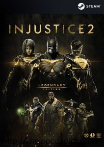 Injustice 2 Legendary Edition PC Game + Torrent Free Download