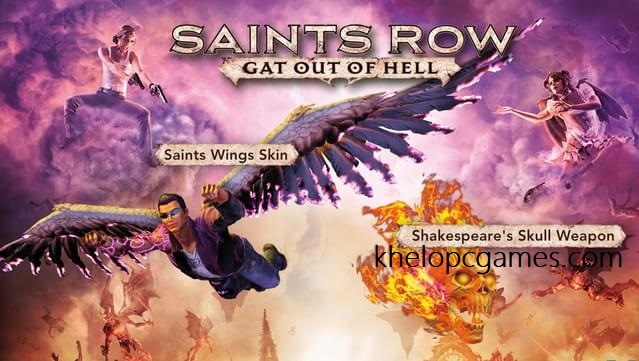 Saints Row: Gat out of Hell PC Game Free Download