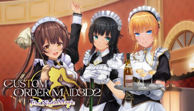 CUSTOM ORDER MAID 3D2 It's a Night Magic Free Download Full Version Pc Game Setup