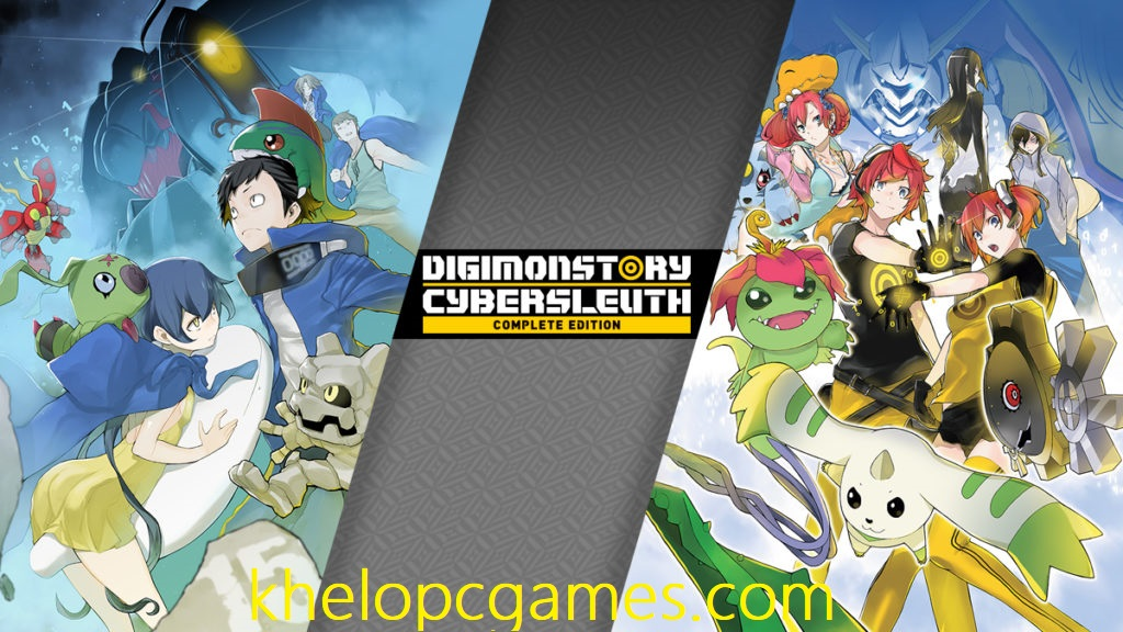 Digimon Story Cyber Sleuth: Complete Edition Free Download Full Version Pc Game Setup