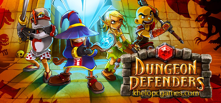 Dungeon Defenders Free Download Full Version Pc Game Setup (v8.7 & ALL DLC)