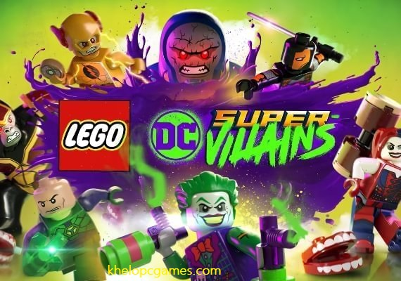 LEGO DC Super-Villains Free Download Full Version Pc Game Setup (v1.0.0.15083 & ALL DLC)