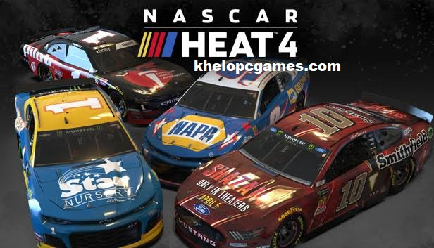NASCAR Heat 4 PC Game + Torrent Free Download Full Version