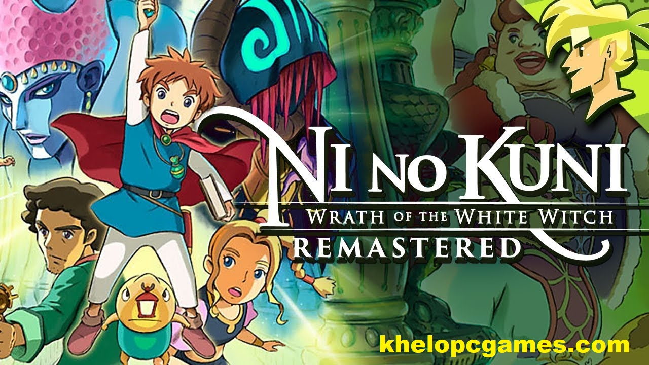 Ni no Kuni Wrath of the White Witch Remastered Free Download cover image