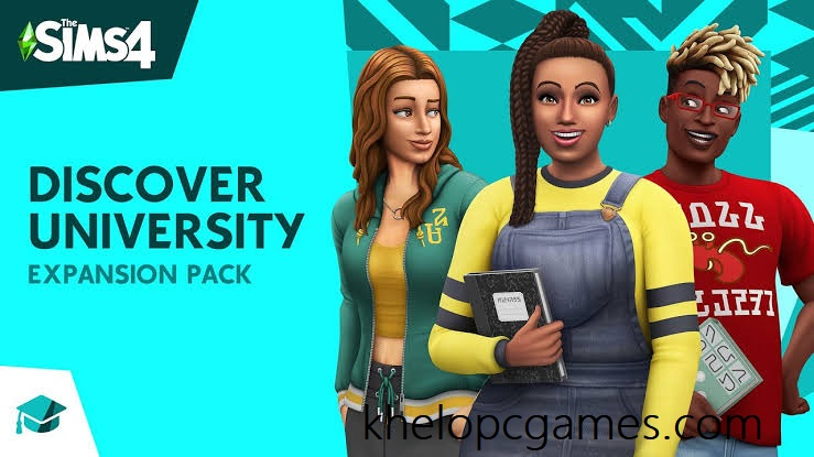 The Sims 4 Discover University Free Download Full Version PC Game Setup (v1.58.69.1010 & ALL DLC)
