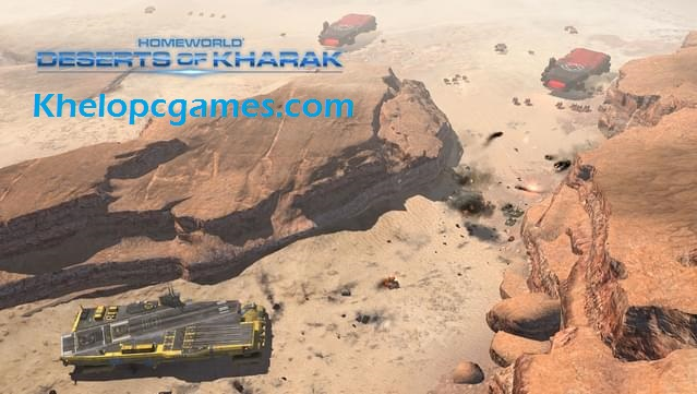 Homeworld: Deserts of Kharak Free Download Full Version PC Game Setup