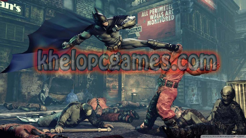 Batman: Arkham City – Game of the Year Edition Free Download(Completed)