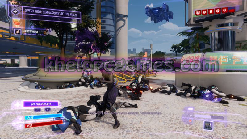 Agents of Mayhem Free Download (v1.06 & ALL DLC) ( Complete )
