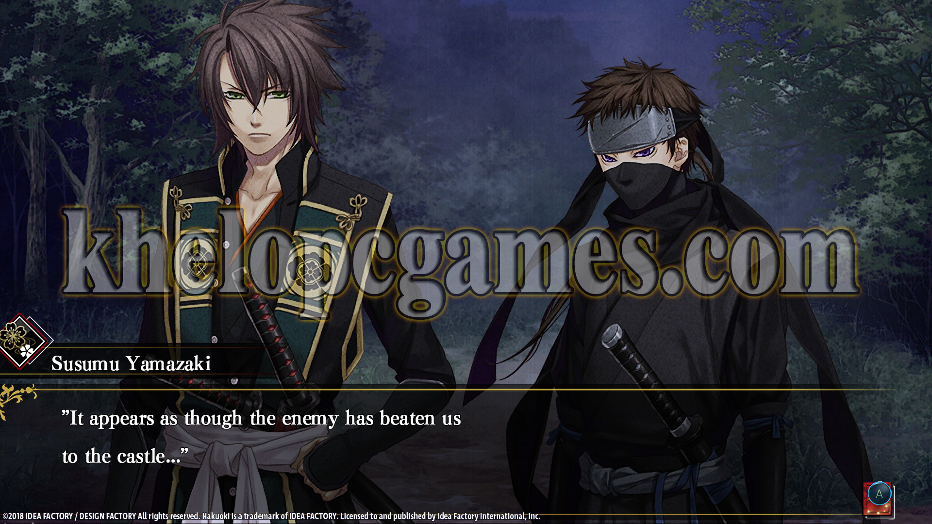 Hakuoki: Edo Blossoms Free Download (Completed)