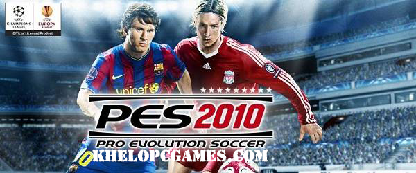 Pro Evolution Soccer 2010 Free Download Full Version