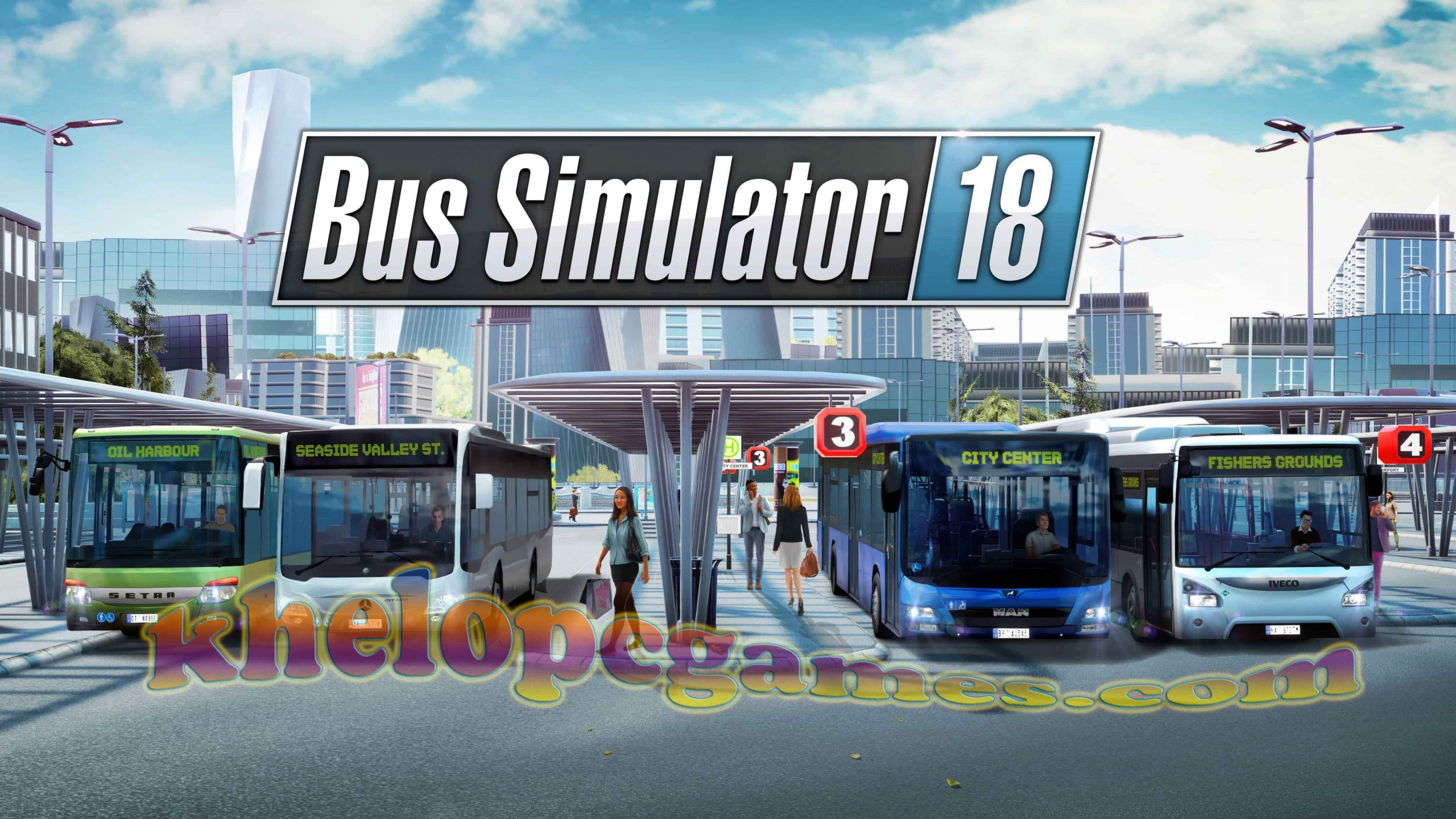 Bus Simulator For Pc Game Full Setup 2020 18 Free Download