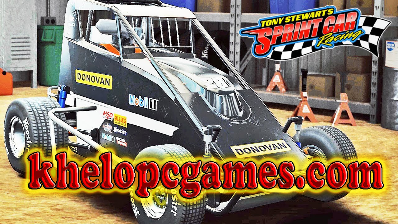 Tony Stewart's Sprint Car Racing PC Game + Torrent Free Download