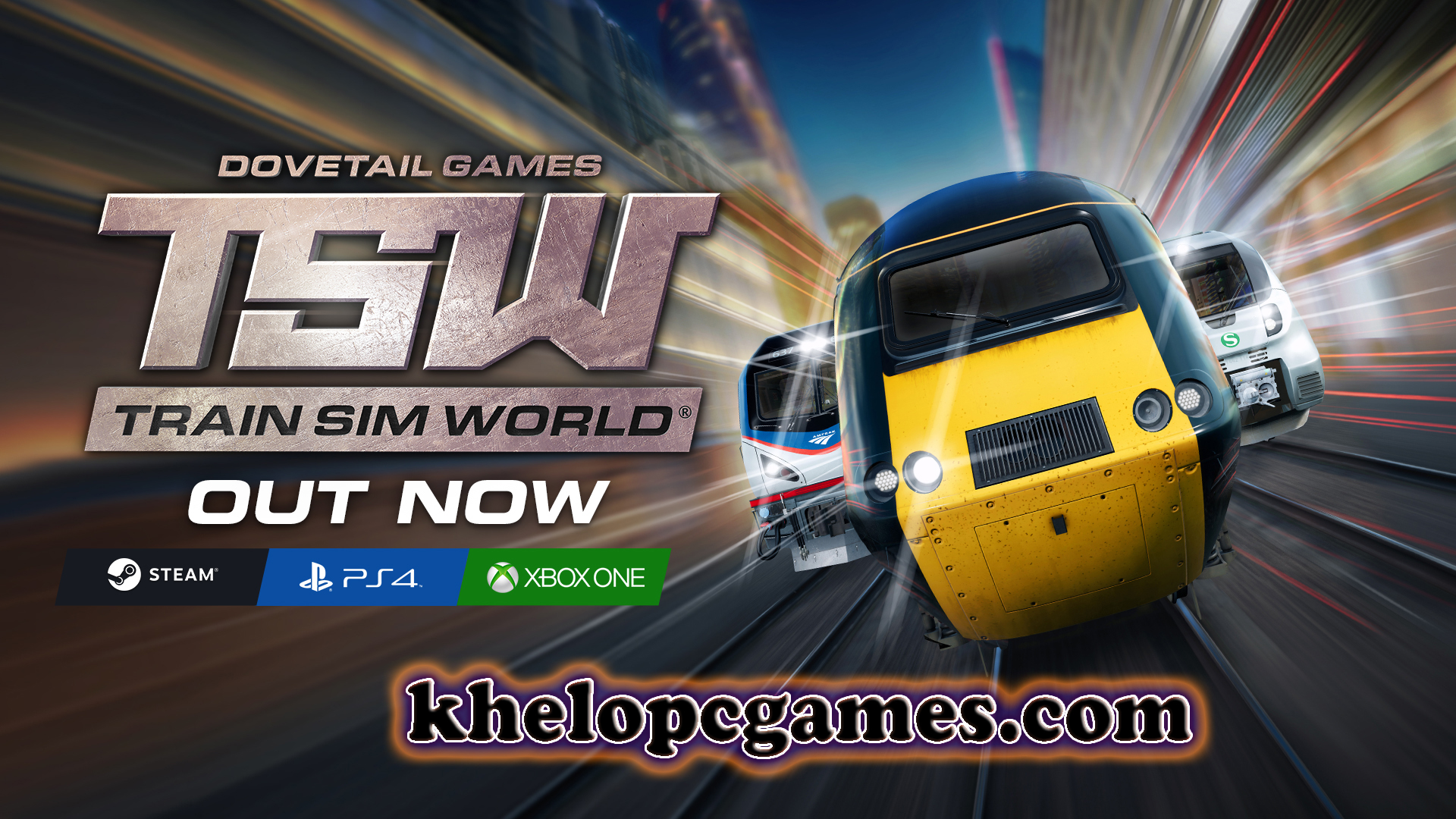 Train Sim World PC Game + Torrent Free Download Full Version