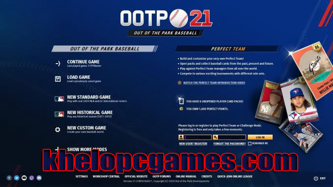 Out of the Park Baseball 21 PLAZA PC Game + Torrent Free Download