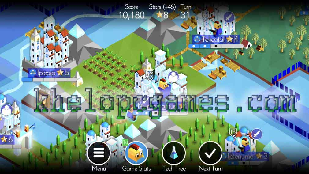 The Battle of Polytopia PLAZA 2020 Game Free Download