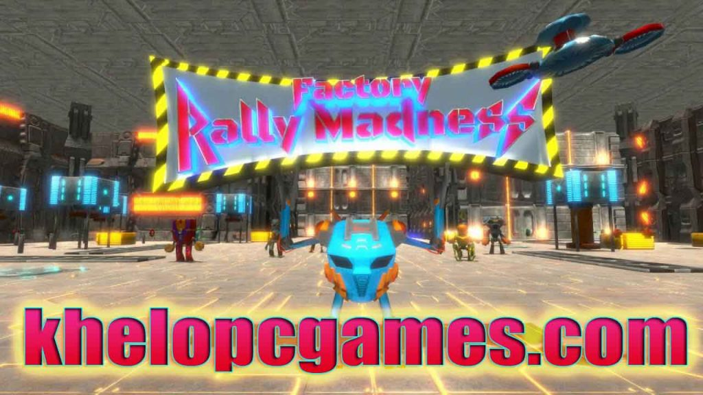 Factory Rally Madness PC Game + Torrent Free Download