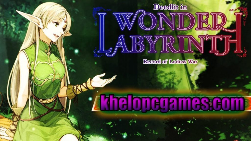 Record of Lodoss War-Deedlit in Wonder Labyrinth-PLAZA PC Game Free Download