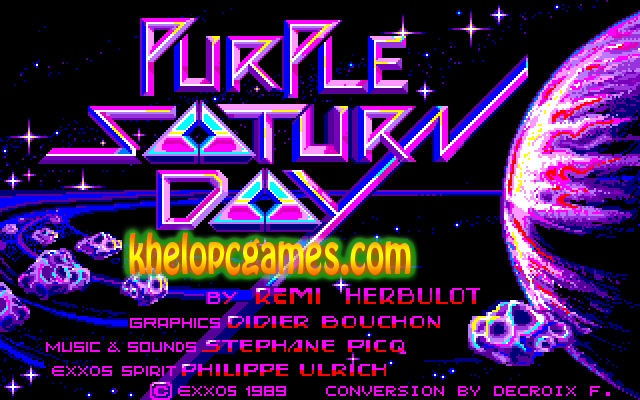 Purple Saturn Day Free Download PC Game + Torrent Full Version