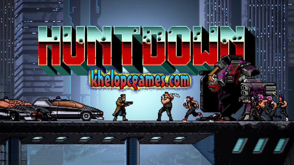 HUNTDOWN Free Download PC Game + Torrent Full Version